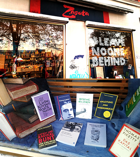 Zapata Buchladen in Kiel